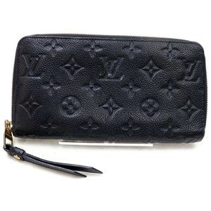 💯 Auth Louis Vuitton Organizer Empreinte Zippy